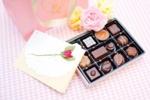 チョコと手紙